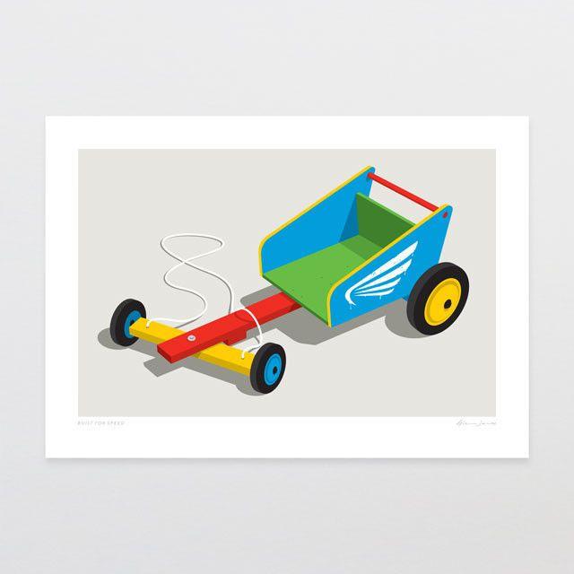 Built For Speed   Glenn Jones Art