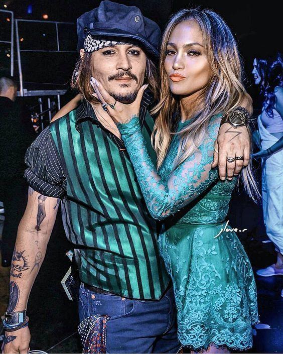 Johnny Depp & Jennifer Lopez!! Love them Both!!