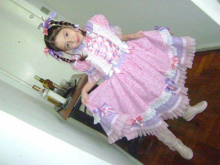 Vestido caipira festa junina