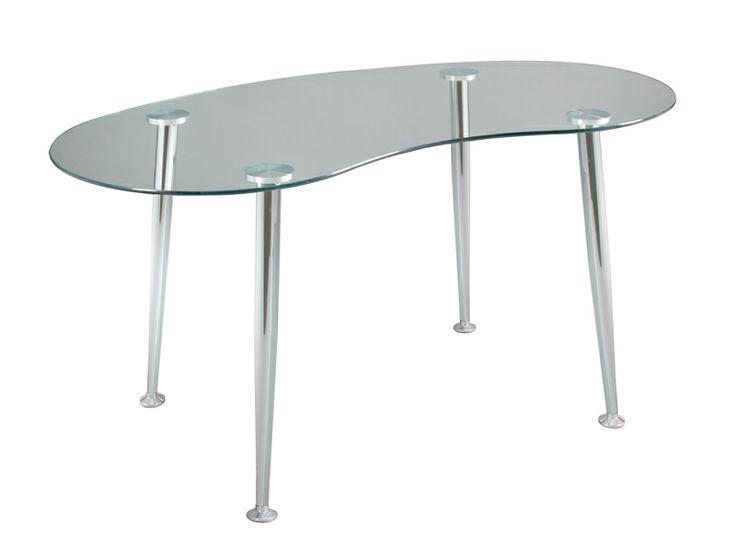 Las 25 mejores ideas sobre mesa escritorio cristal en - Mesa cristal despacho ...