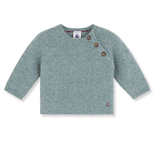 Petit Bateau Baby Boy's Elegant Sweater in Dusty Green, 12M (29 inches)   This baby boy's sweater is made in a wool and cotton knit. This classically cut item is a closet basic that opens at the shoulder and Read  more http://shopkids.ca/baby-boys/petit-bateau-baby-boys-elegant-sweater-in-dusty-green-12m-29-inches