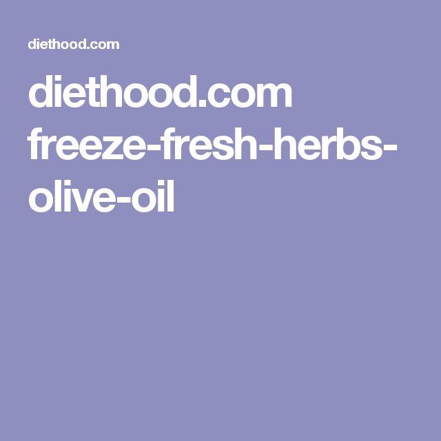 diethood.com freeze-fresh-herbs-olive-oil