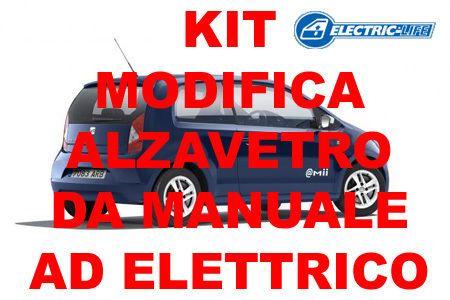 KIT MODIFICA ALZACRISTALLO DA MANUALE AD ELETTRICO SEAT MII 2P DAL 2011