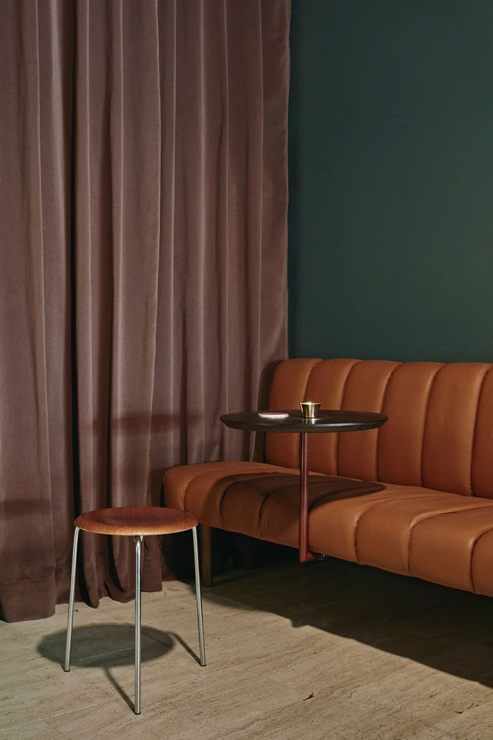 Jackie - Helsinki | Inspired by the look of Milanese clubs and lounge music of the 70s.