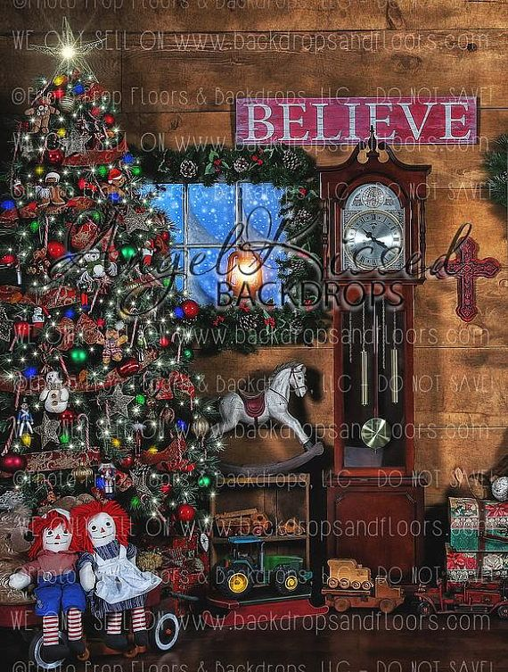 Christmas 10x15 FT Photo Backdrops,Vintage Merry Xmas Wreath with Several Noel Yule Icons and Ribbons Candles Bells Image Background for Party Home Decor Outdoorsy Theme Vinyl Shoot Props Red