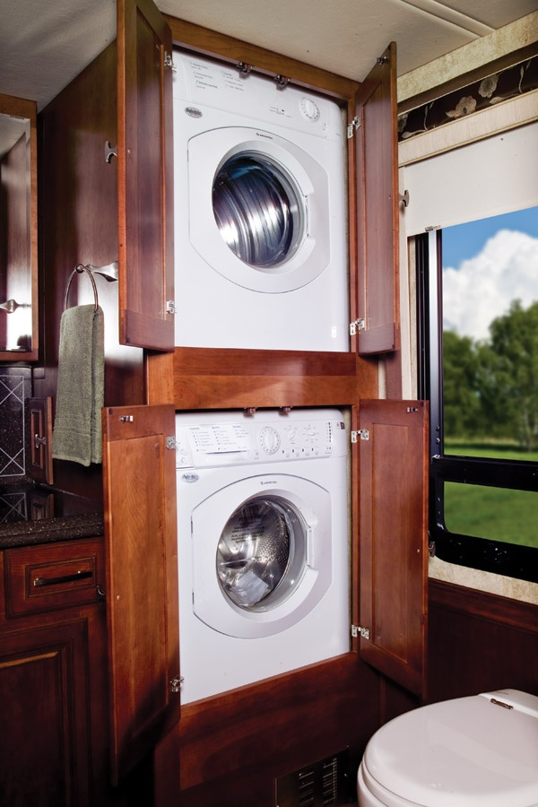 Rv With A Washer And Dryer Rv Washer Dryer Mini Washer