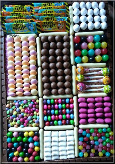 candy cake ou gâteau de bonbons