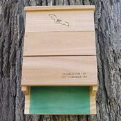 Show product details for OBC Bat House, Single Chamber, 100 Bat Capacity, Model SE520