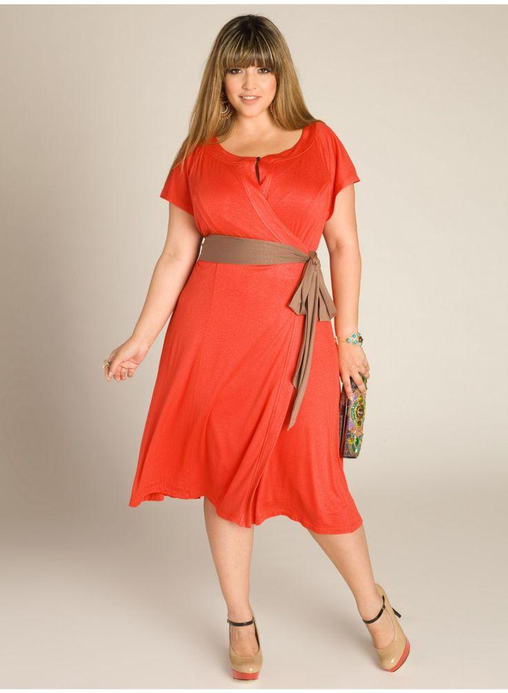 Kelsey Wrap Dress in Camelia: Maxi Dresses, Burnt Orange, Dresses Shoes, Plus Size Dresses, Size Fashion, Kelsey Wraps, Size Clothing, Wraps Dresses, Work Dresses