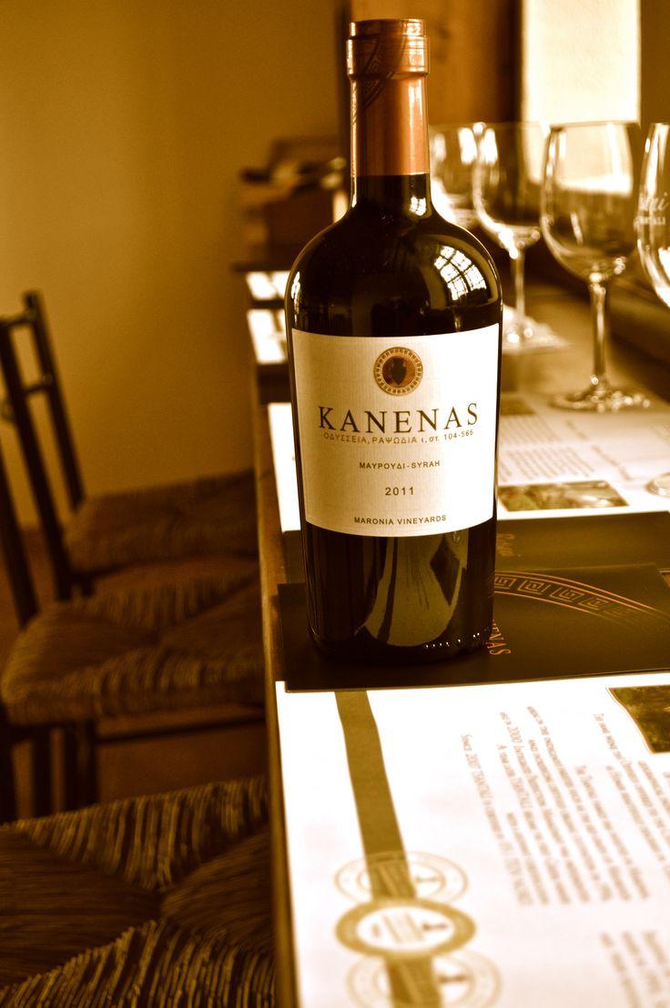 Let the tasting begin #maronia #tsantali #wine #kanenas