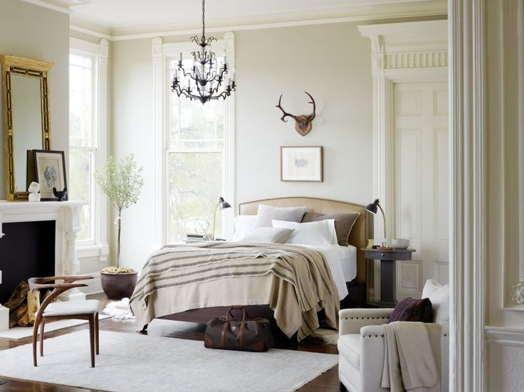 Pair a Stearns & Foster® mattress with a touch of classic décor, and you have yourself the perfect bedroom. Source: www.stearnsandfoster.com chair, bed linens