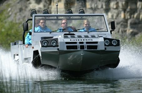 I will have to have a car to get to my own personal island. | Humdinga - the 4WD amphibious vehicle