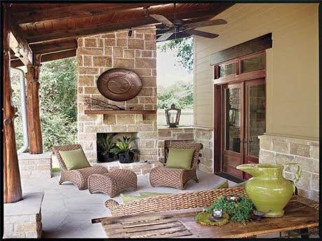 Best 25 porch fireplace ideas on pinterest fireplace on for Back porch fireplace