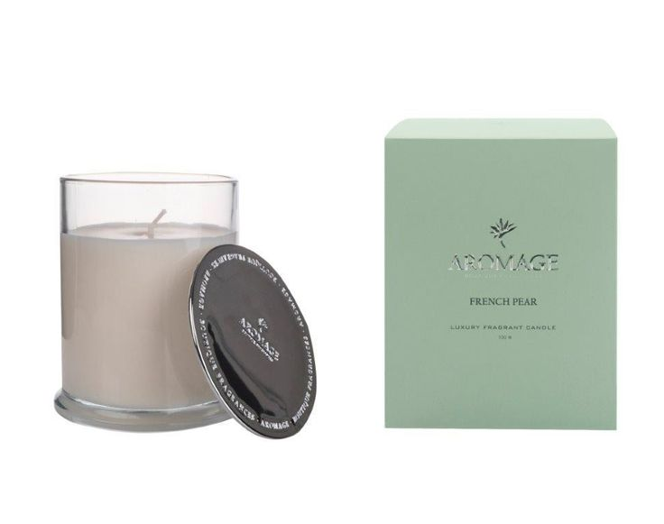Aromage Luxury Fragrant Candle 100g - French Pear  #Luxury #premiumquality #Bestprices #madeinaustralia #diffuser #candles #sale #oils #soy #thefragranceroom