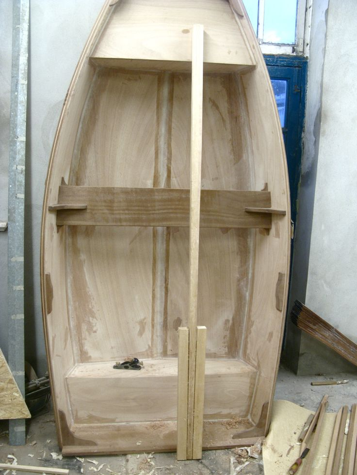 boat building - dingy