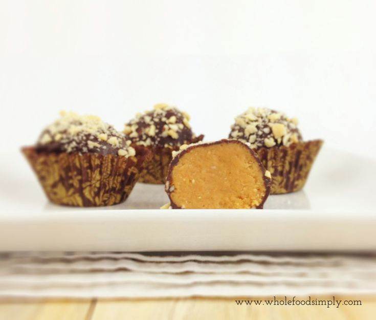 Quick and delicious Peanut Butter Truffles. Free from gluten, grains, dairy, egg and refined sugar. Enjoy.