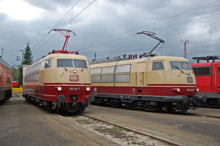 Die Starlok der Deutschen Bundesbahn von Niko H.