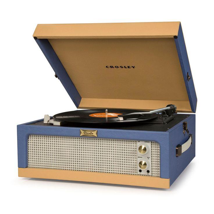 Crosley Dansette Junior Portable Record Player - CR6234A-BT