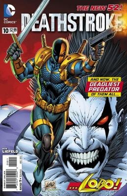 Deathstroke #10 DC Comics Rob Liefeld ---> shipping is $0.01 !!!: Lobo Hunt'S, Book Art, Rob Liefeld, Dc Comics, Comic Book, Comicbook, Frak Lobo, Dc Universe, Deathstroke 10
