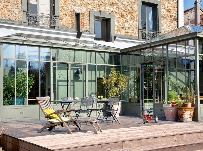 Vérandas : 7 idées lumineuses | Petite véranda, Maison et Idées de patio