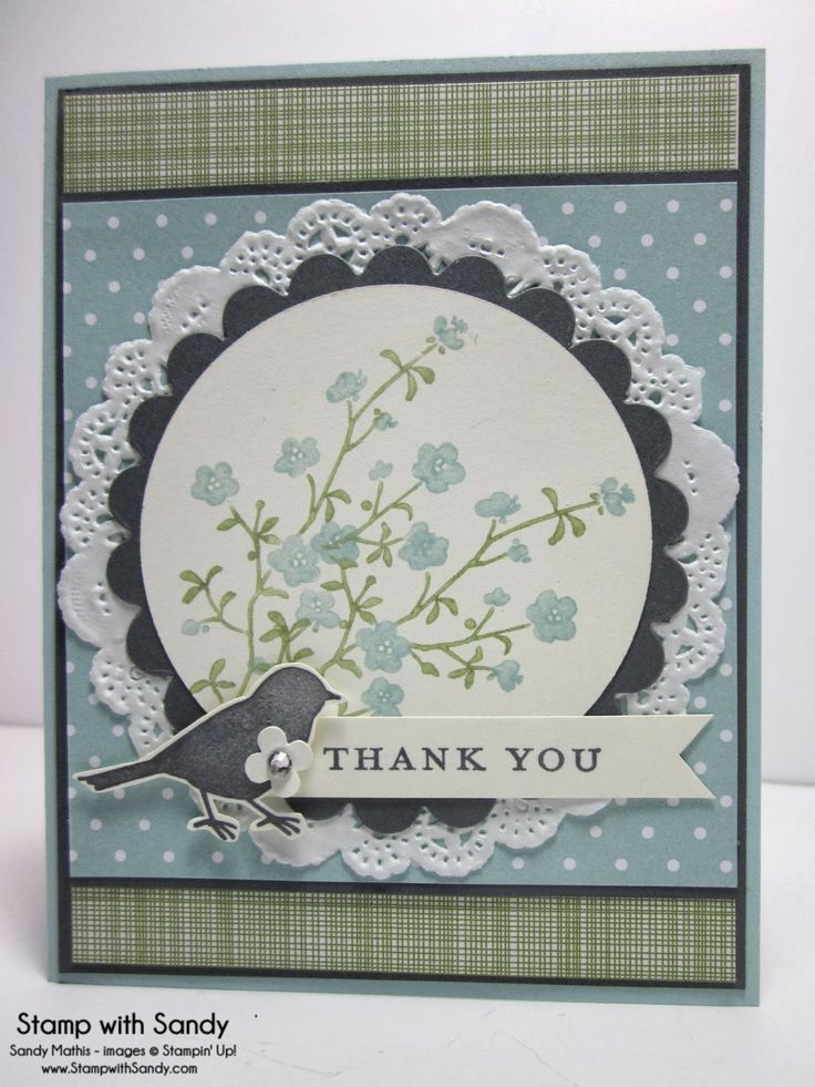 Stamp With Sandy: Gingham Meadow, Morning Meadow Stamp Set, Stampin' Up