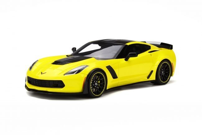 GT Spirit has grown a strong name for itself in building some of the coolest resin models and yet holds them to a reasonable price. Dodge aficionados in particular should make sure they're familiar with the manufacturer, given their breadth of scale model cars… just like this 2016 Chevrolet Corvette Z06-C7.R Edition.    <em>– Bill@ChoiceGear</em>