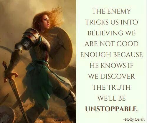 With Jesus......Will be Unstoppable!