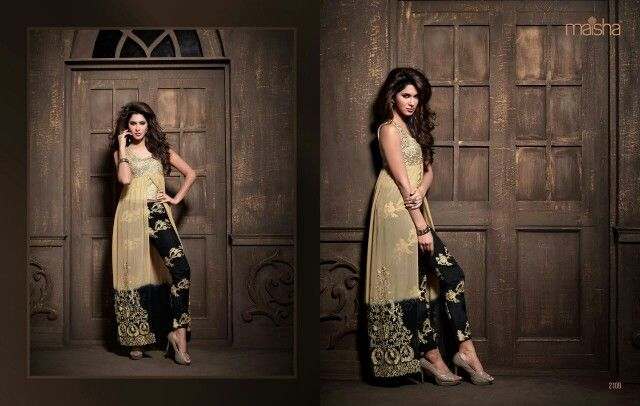 Cream net top with palazzo Only for 3000 rs