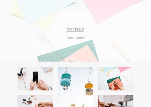 Novello | Olle Ota Themes