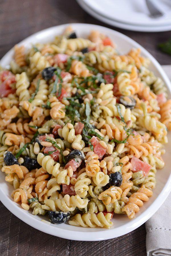 17 Best Ideas About Tri Color Pasta Salad On Pinterest