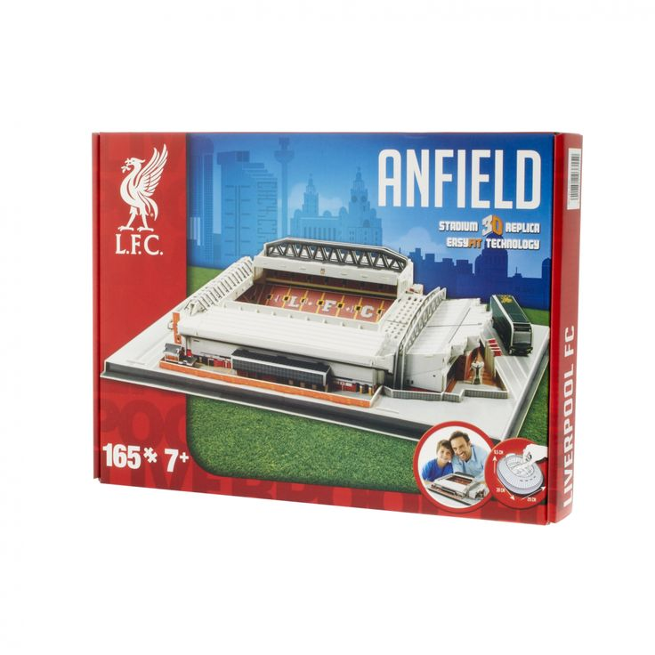 LFC 3D Anfield Stadium Puzzle, 325 http://store.liverpoolfc.com/lfc-3d-stadium-puzzle/