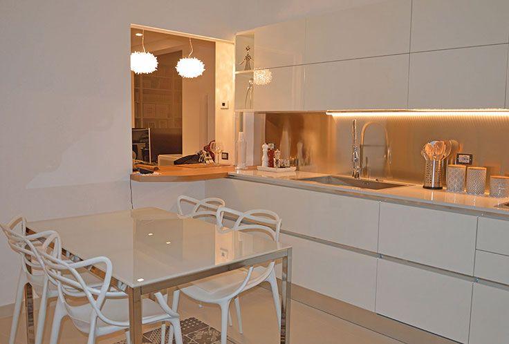 A casa di Tiziana At Tiziana House Modello_ Model : Oyster Rivenditore: Ganci Arredamenti http://www.venetacucine.com/ita/racconti-di-vita/tiziana-1.php #raccontidivita