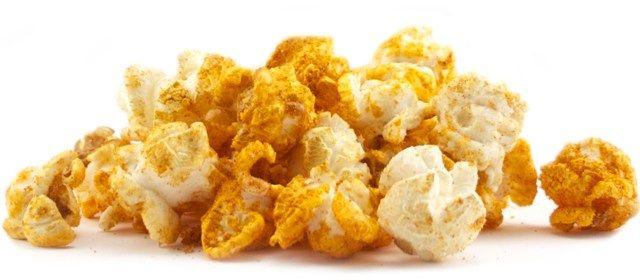 وصفة عمل فشار تاكو بالزبدة وبهارات التاكو Gourmet Popcorn Buffalo Blue Cheese Popcorn Seasoning