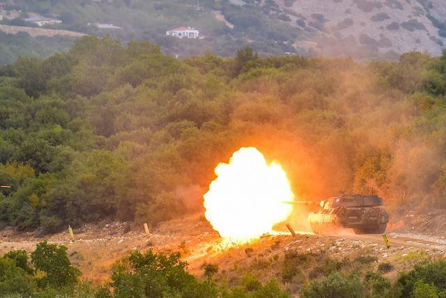 16 ΕΜΑ: Φωτογραφίες από τις βολές αρμάτων Leopard 1A5 στο πεδίο βολής αρμάτων…