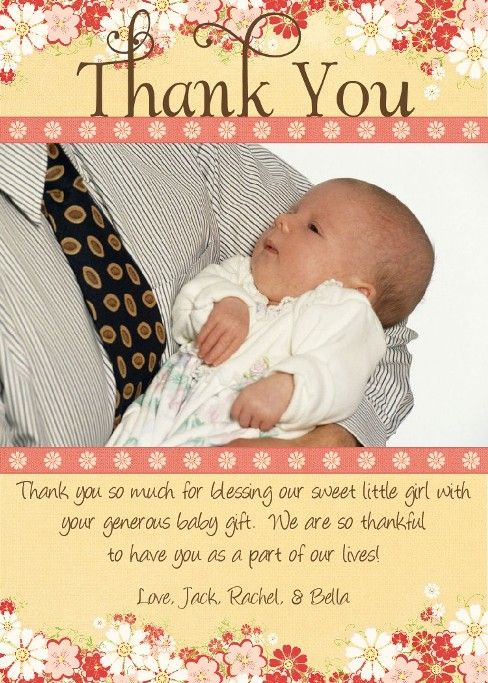 baby shower gift card thank you wording baby shower mania