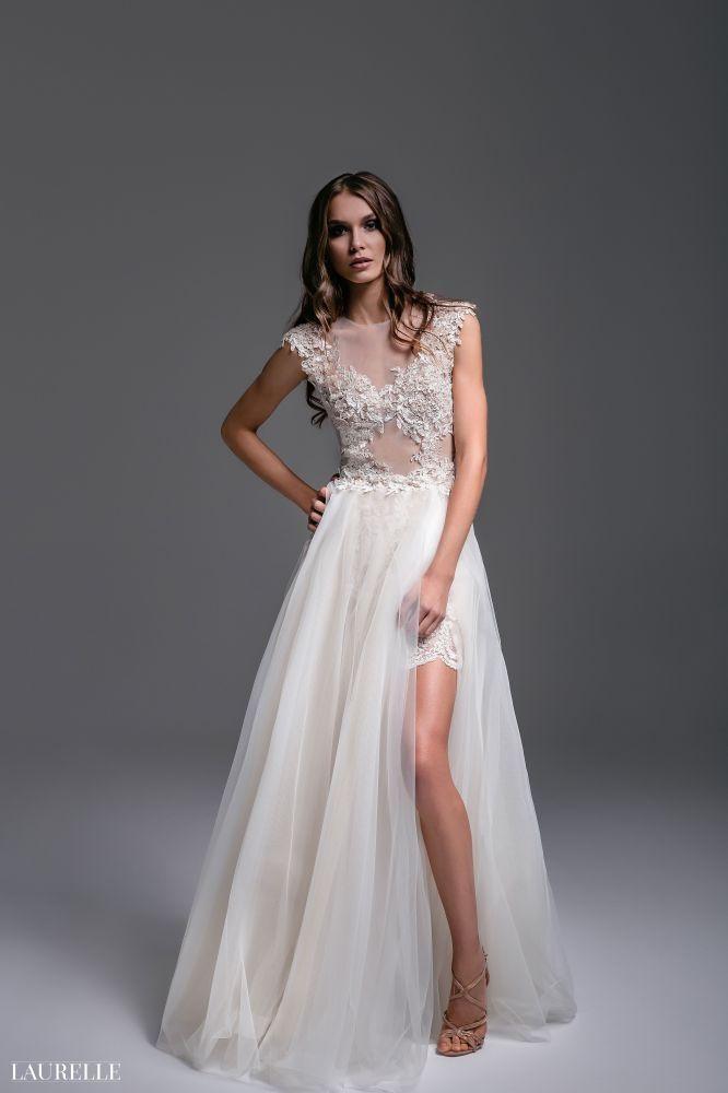 Laurelle - Nadine White - koronkowe suknie ślubne