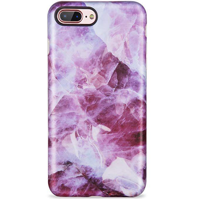 Amazon Com Lumarke Iphone 7 Plus Case Iphone 8 Plus Case Grey White Marble Slim Fit Matte Tpu Clea Phone Cases Protective Iphone 7 Plus Cases Phone Case Cover