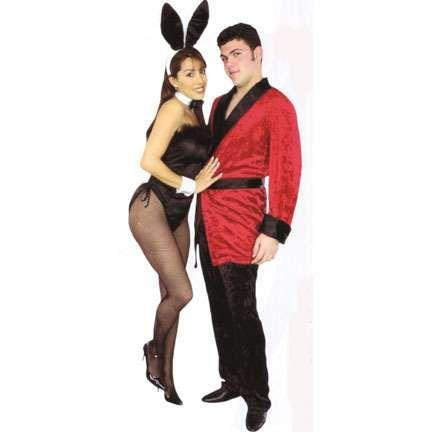 hugh hefner and bunny couples costumes halloween - Halloween Costumes Playboy