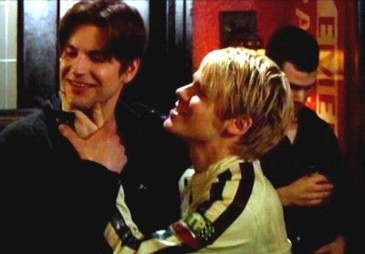 Gale Harold and Randy Harrison @ QAF | Flickr - Photo Sharing!