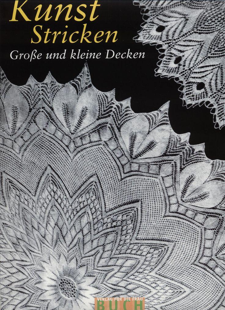 Kunststricken: Grobe und kleine Decken—Скатерти и салфетки, спицы - Вязание - Страна Мам