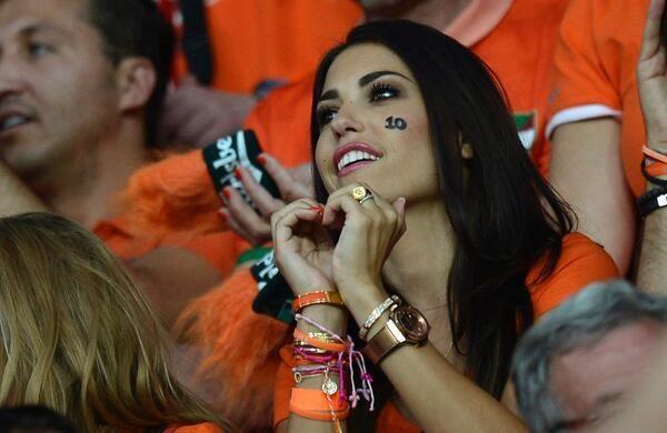 World Cup Yolanthe Sneijder
