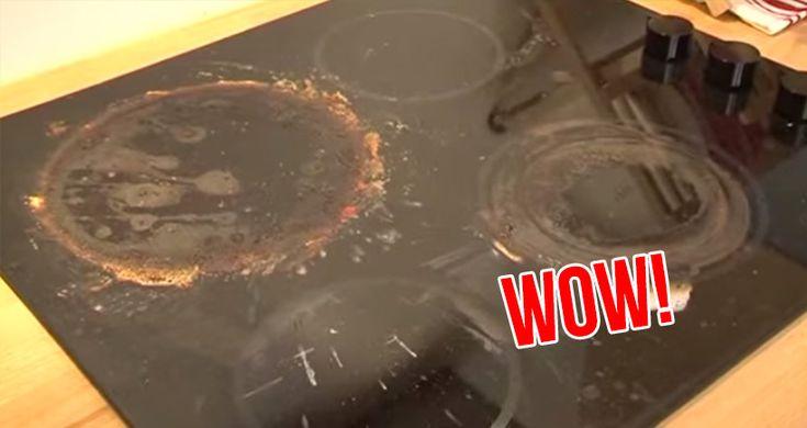 comment nettoyer votre plaque de cuisson sans aucun effort et faible co t trucs et astuces. Black Bedroom Furniture Sets. Home Design Ideas