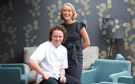 Chef Tom  and Michela Kitchin