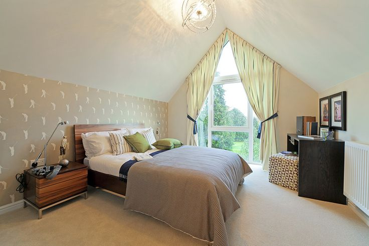 Overlook beautiful scenery from your luxury bedroom at 'Woodcote Park' http://bit.ly/1Mq0ebW