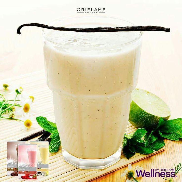 Wellness Nutrishake by Oriflame Batido vainilla