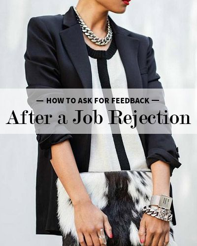 Tips From a Recruiter: How to Ask for Feedback After a Job Rejection /brazen/ Edwards Edwards Edwards Edwards Careerist