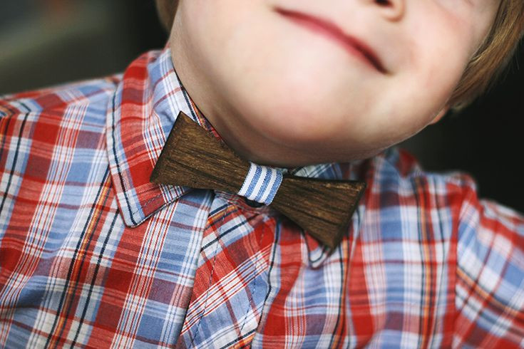 DIY Wooden Bow Tie @The Merrythought