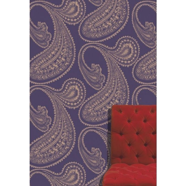 Rajapur features a voluptuous paisley design in a neatly repeating pattern to ensure it looks