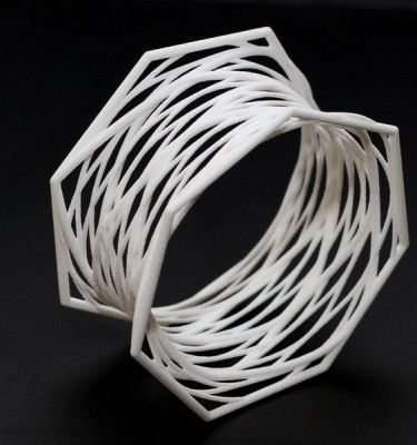 3d printed jewelry, parametric design, bracelet