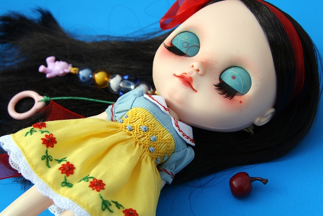 Sweet dreams little Snow White by ♥PAM♥dolls♥, via Flickr